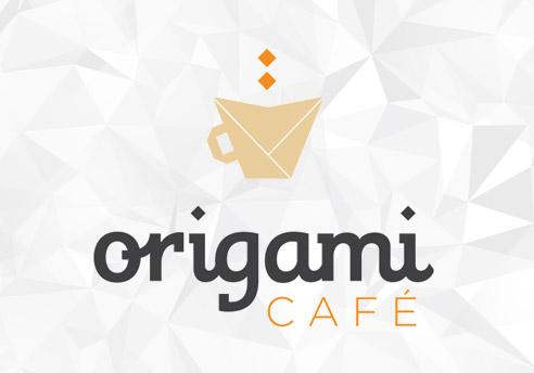 Disseny de la imatge corporativa d'Origami Cafè