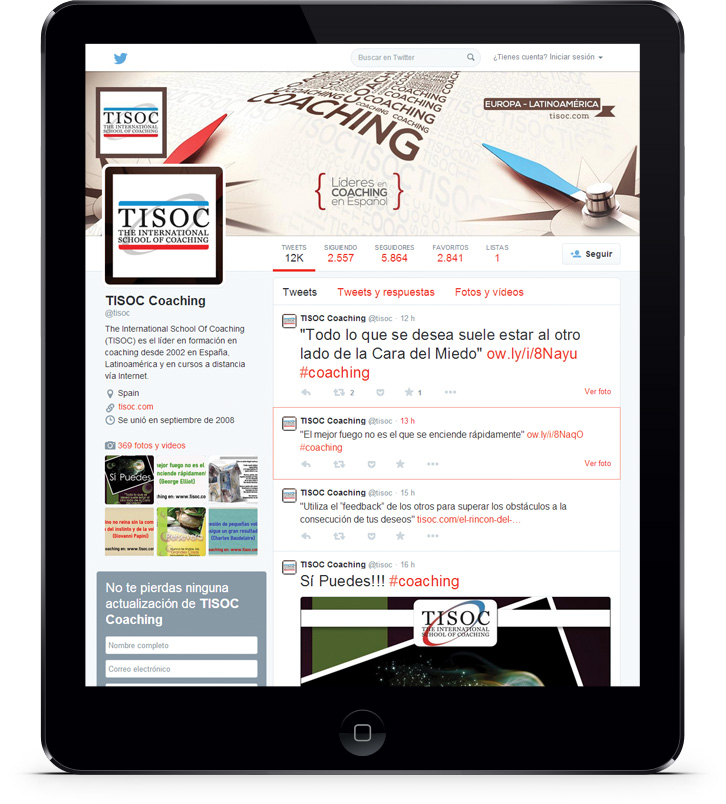 Campañas de Marketing online en Internet para TISOC