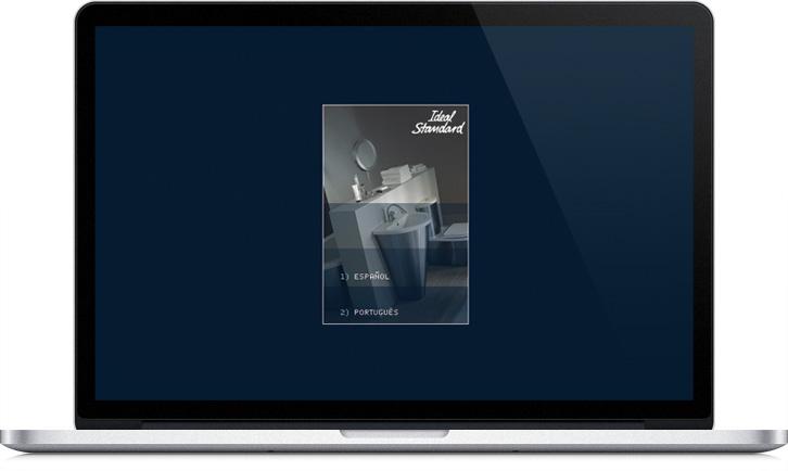 Aplicación CD Multimedia para Ideal Standard