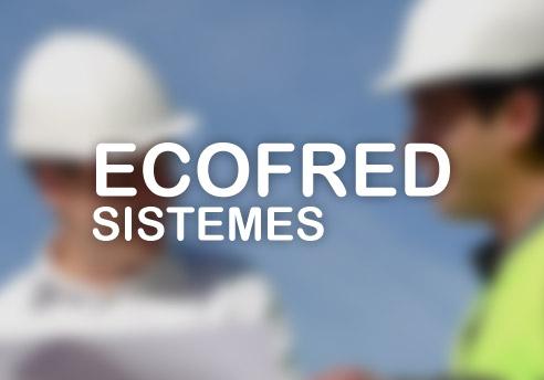 Disseny de la pàgina web de Ecofred