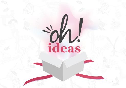 Disseny de la pàgina web 2.0 i Xarxes Socials per a Oh! idees