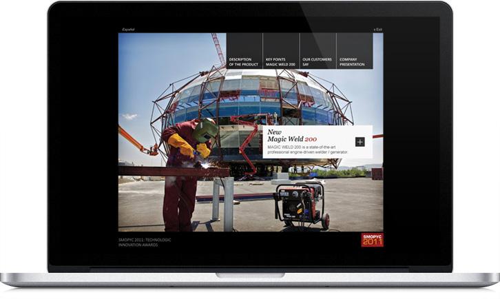 CD interactivo multimedia para MOSA