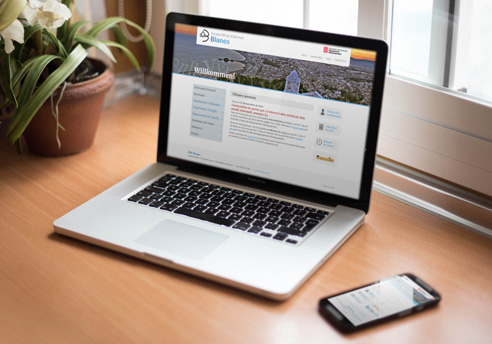 Disseny responsive de la pàgina Web per a EOI Blanes