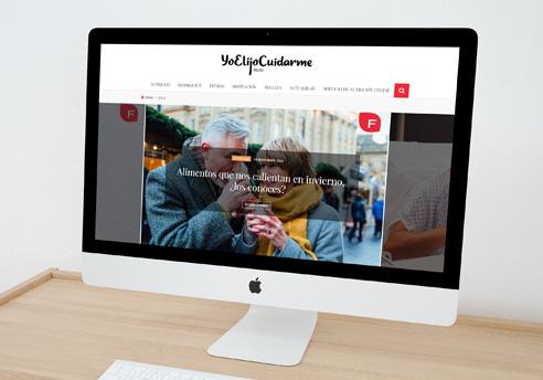 Projecte de redisseny de la pàgina web de Yo Elijo Cuidarme, creació de noves funcionalitats i optimització del WPO i del SEO